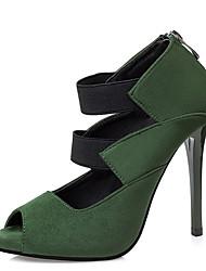 Women's Heels Spring Winter Slingback PU Casual