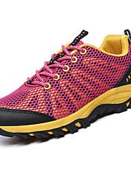 -Для женщин-Повседневный-Тюль-На плоской подошве-Удобная обувь-Спортивная обувь