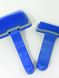 Pet Dog Comb Plastic Materials Grooming For Shaggy Cat Dogs Barber Grooming Tools Salon Available Blue Pet Combs