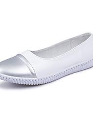 Damen-Sneakers Komfort PU Outdoor Casual Champagner schwarz weiß