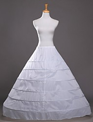 Slips A-Line Slip Ball Gown Slip Floor-length 1 Polyester White Black