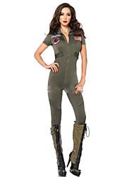 Costumes de Cosplay Soldat/Guerrier Fête / Célébration Déguisement d'Halloween Mode Collant/Combinaison Halloween Carnaval Féminin