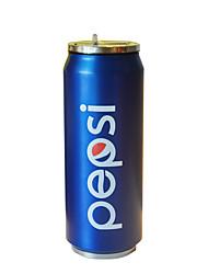 Novidades Minimalismo Ir Automotivo Artigos para Bebida, 500 ml retenção de calor DIY Criador Simples padrão geométrico Aço Inoxidávelchá