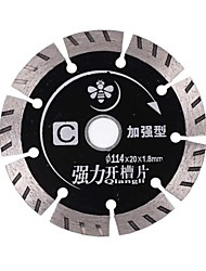 Comprimés à fentes solides c (renforcé) 114 * 20 * 1,8 mm (9 pièces)