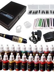 Solong tatuaggio sopracciglio kit tattoo permanente macchina trucco 23 ago inchiostro ek709-1