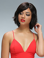130% de densité pleine dentelle perruques de cheveux humains pour les femmes noires 8 '' - 12''breils de cheveux vierges vierges bruns bob