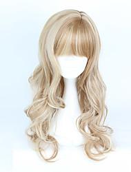 Perruques de lolita Doux Dégradé de Couleur Perruque Lolita  70-80 CM Perruques de Cosplay Perruque Pour