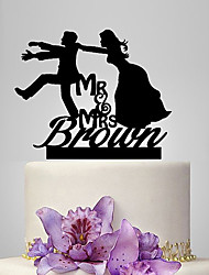 Personalized Acrylic You Are Mine Wedding Cake Topper