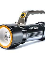 LED Flashlights/Torch LED Lumens Mode 18650 Compact Size Camping/Hiking/Caving Multifunction Outdoor