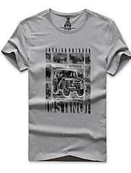 Homme Tee-shirt de Randonnée Séchage rapide Respirable Tee-shirt pour Pêche Eté M L XL XXL XXXL