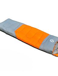 Schlafsack Rechteckiger Schlafsack Einzelbett(150 x 200 cm) -3-8 HohlbaumwolleX75 Wandern Camping Reisen warm halten Tragbar