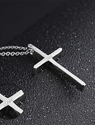 Halsketten-Edelstahl-Gold Silber Schwarz