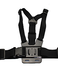 QQT For GoPro Accessories Adjustable Lapel Strap Body Tripod Harness Mount for GoPro Hero 5 4 3  2 1 SJCAM Xiaomi Yi Camera