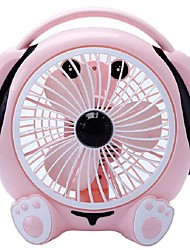 Cartoon Fan Dormitory Desktop Small Fan In The Office To Turn Pages Fan Fan Mute 220 v Music Cute Dog