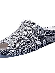 Men's Slippers & Flip-Flops Summer Comfort Nappa Leather Outdoor Flat Heel Walking