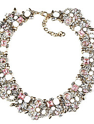 Women's Strands Necklaces Jewelry Jewelry Gem Alloy Fashion Euramerican Costume Jewelry Jewelry For Party Gift