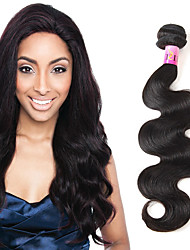 Peruvian Body Wave 1b# Virgin Human Hair Extensions 1 Bundles 100g 8A Unprocessed Hair 3-4 Bundles for Full Head