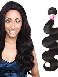 Перуанская волна тела 1b # натуральные наращивания человеческих волос 1 пучки 100 г 8a необработанные волосы 3-4 пучка для полной головы