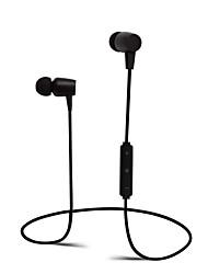 Casque bluetooth pour écouteur sans fil avec microphone dans les écouteurs d'oreille