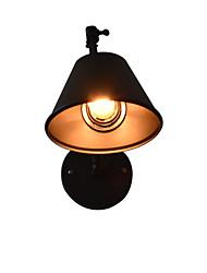 Qsgd ac220v-240v 4w e27 led lumière swall lumière led appliques murales applique murale lampe murale lampe sablonneuse noir noir sur le