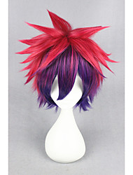 Short NO GAME NO LIFE-Sora Color Mixed 14inch Anime Cosplay Wigs CS-185A