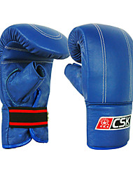 Boxing Gloves Pro Boxing Gloves Boxing Training Gloves for Boxing Full-finger Gloves Shockproof Wearproof Protective PU Blue Red Black
