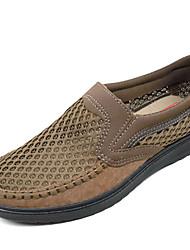 Homme-Décontracté--Talon Plat-Confort-Sandales-Tissu