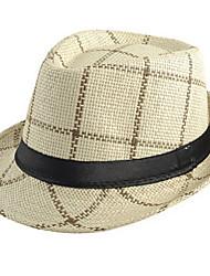 Men UV Bucket Hat Summer Straw Hat Cap Wide Brim Hawaii Folding Sun Hat Casual Foldable Brimmed Beach Hats