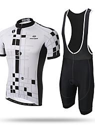 Xintown® equipe masculina ciclismo bicicleta jersey e babador calças acolchoadas 3d conjunto roupas esportivas mtb