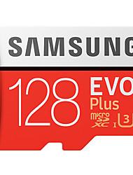 Samsung 128gb micro sd cartão tf cartão cartão de memória uhs-i u3 class10 evo mais 100mb / s