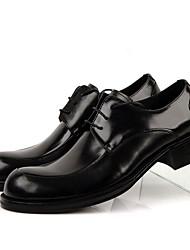 Herren-Loafers & Slip-Ons-Lässig-Leder-Niedriger Absatz-formale Schuhe-