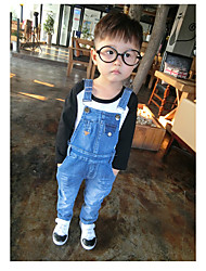 Baby School Solid Overall & Jumpsuit,Others Spring Fall