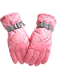 Ski Gloves Women's Men's Activity/ Sports Gloves Keep Warm Waterproof Windproof Breathable Anti-skidding Snowproof Wicking ProtectiveSki