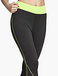 Damen Enge Laufhosen Atmungsaktiv Weich Komfortabel Hosen/Regenhose für Yoga Übung & Fitness Freizeit Sport Laufen Polyester Eng S M L XL