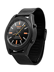 S9  1.2 Inch IPS 240*240 Full Circular Screen Comes With NFC Function Step Rate Heart Rate Monitoring Steel Strip  Bluetooth  Smartwatch