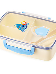 BPA Free Double Layer Lunch Box with Handle