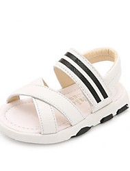 Kids' Sandals Summer First Walkers Leatherette Casual Flat Heel