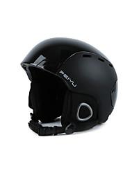 Casque Unisexe Réglable Casque Sport  Casque Sport d'Hiver Polycarbonate EPS ABS Sports de neige Snowboard