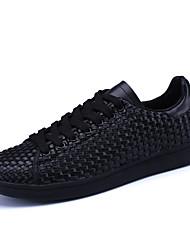 Da uomo-Sneakers-Tempo libero Casual Sportivo-Comoda Decolleté con cinturino pattini delle coppie-Piatto-PU (Poliuretano)-