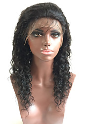 100% Brazilian Human Virgin Hair Lace Wig Full Lace Natural Loose Wave Gueless Full Lace Wig For Woman with Baby Hair