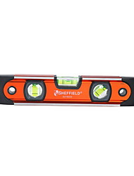 Sheffield Magnetic Torpedo Level with 3 Blisters