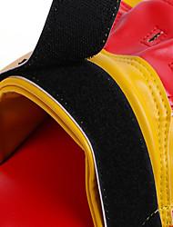 Manopla de Boxe Sanda Boxe Taekwondo Grossa Treino de Força Couro Ecológico