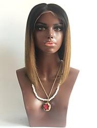Парик шнурка t1b / 33 # парика шнурка 100% бразильских виргинских человеческих волос 100% бразильских неповрежденных gluesless полный для