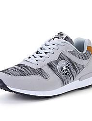 Homme-Extérieure Décontracté Sport-Gris BleuConfort-Chaussures d'Athlétisme-Sergé Polyuréthane