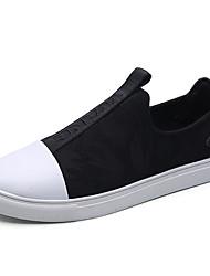 Chaussures de sport pour hommes printemps semelles légères stretch satin décontracté
