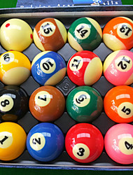 Bolas de bilhar Nine-Ball Resistente ao Impacto Resina