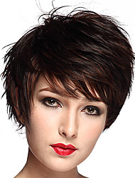 Short BOB Natural Curly Synthetic Fiber Wigs Wigs for Women Costume Wigs Cosplay Wigs