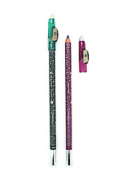 12 Colours Arrival Waterproof Makeup Eyeliner Pencil Long-Lasting Natural Eye Liner Pen And Sharpeners Cosmetic Kits