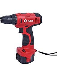 Ruiqi 12v charge drill 10mm tournevis électrique rechargeable bn6112