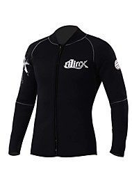 Men's Wetsuit Top Breathable Quick Dry Neoprene Diving Suit Long Sleeve Tops-Diving Spring Summer Fashion